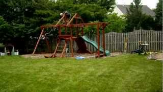 Installing A Kids Creations Swing Set