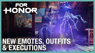 For Honor: Zhanhu's Fire | Emotes, Outfits, & Executions: 12/19/2019 | Ubisoft [NA]