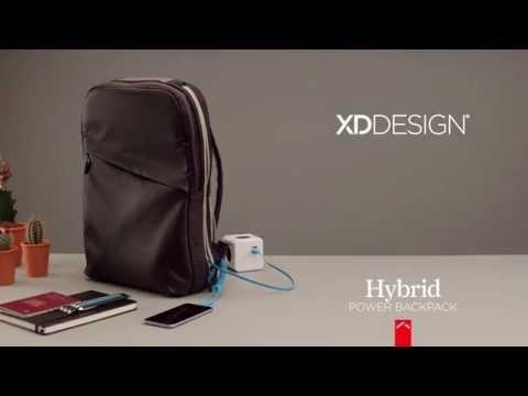 Рюкзак Hybrid со встроенным зарядным устройством, XD Design, арт. P705.511