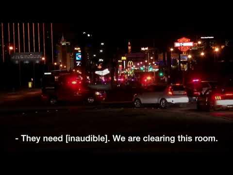 Las Vegas shooting: Moment police burst into gunman's room - BBC News