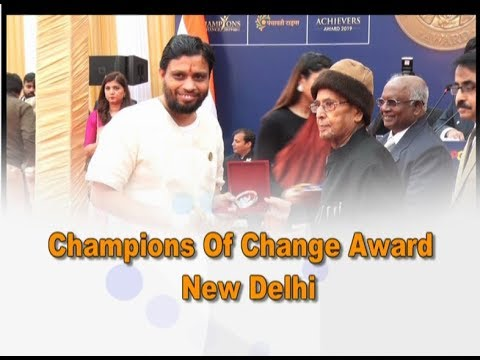 Champions of Change Award | New Delhi | Acharya Balkrishna | 20 Jan 2020