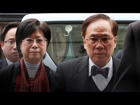 محکومیت رهبر پیشین هنگ کنگ به زندان