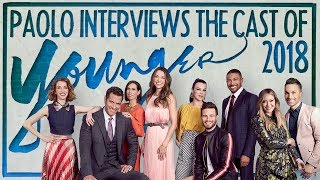 "Fun interview with the cast of ""Younger"" season 5!"