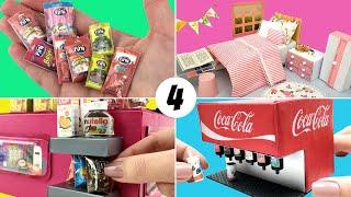 4 Projetos para Boneca Barbie fáceis de fazer - DIY Miniature Dicas e Truques