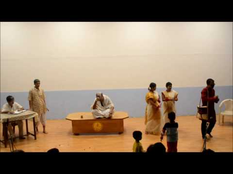 "Drama performed by Faculty Members ( ""Chokhey Angul Dada"")"