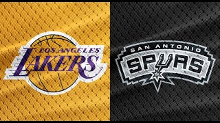 Los Angeles Lakers vs San Antonio Spurs Full Game Highlights | Nov 3, 2019
