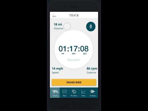 Prototype Walk-Through: Wellness Cycling App