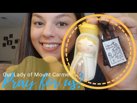 Our Lady of Mount Carmel and the Brown Scapular + My Marian Consecration | Happy Feast Day!
