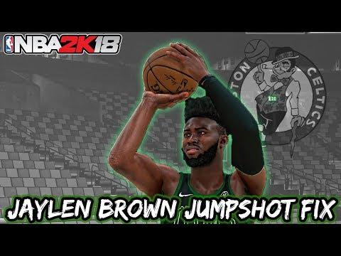Jaylen Brown Jumpshot Fix - NBA 2K18