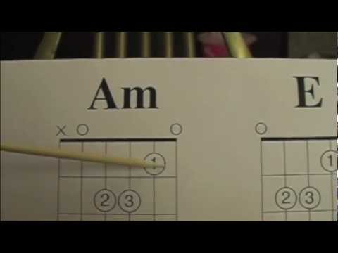 Am And E Chords Lesson Youtube