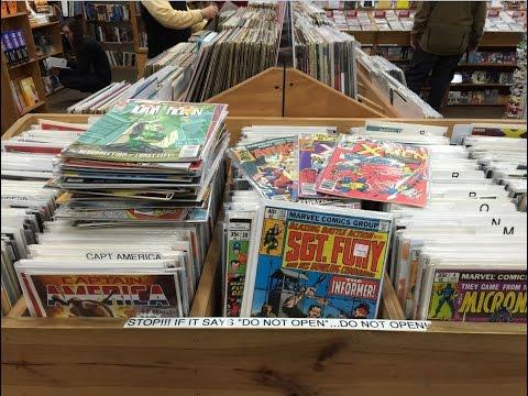 Half Price Books Comic Book Haul 7 (DC To The Rescue!)