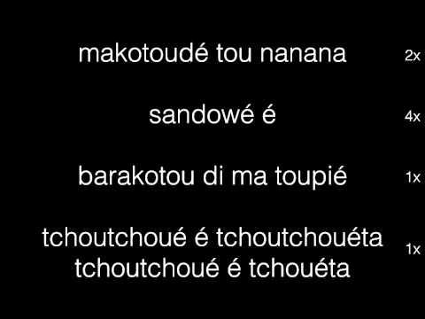 Makotoudé - chant africain