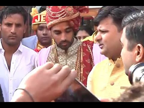 EXCLUSIVE PICTURES of Cricketer Bhuvneshwar Kumar getting married