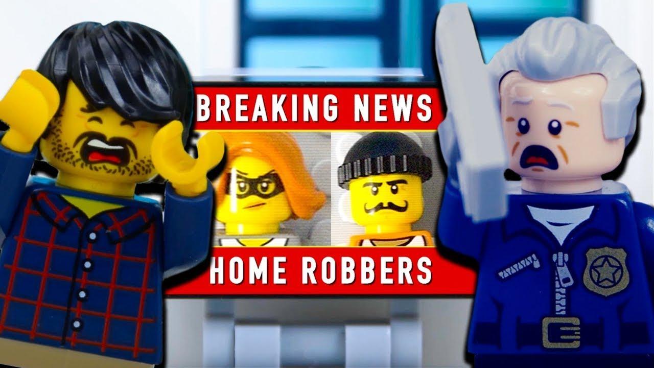 LEGO City Robbery (Compilation) STOP MOTION LEGO City: Police vs Crooks | LEGO City | Billy Bricks