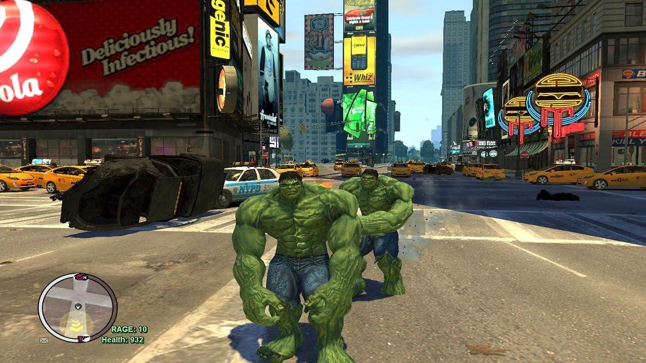 The Incredible Hulk Script (Hulk Enemy VS Hulk MOD) HD