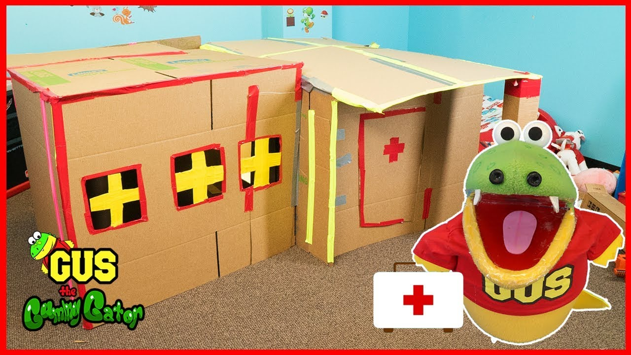 how to make abox fort