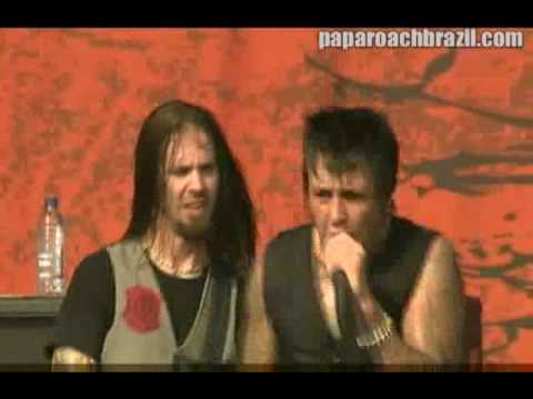 Papa Roach 09 Broken Home   @ Graspop Festival 2009 HQ