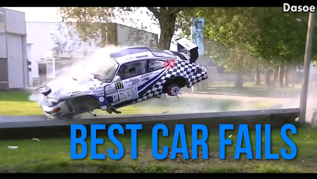Ultimate Fail Compilation Best Car Fails Youtube