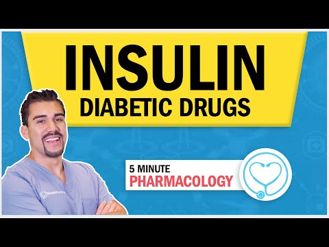 Pharmacology For Nursing - Diabetic Drugs Insulin Types & Memory Tricks (Peak, Onset, & Duration) RN