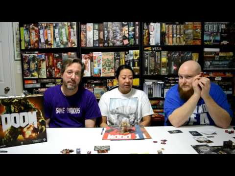 Review of the board game Doom by Fantasy Flight Games