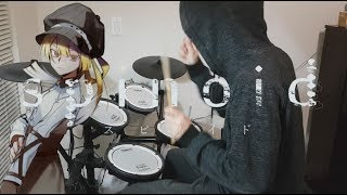 Spinoid (スピノイド)『滲む錆色/眩暈SIREN』Drum Cover (叩いてみた)