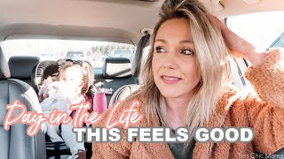 THIS IS GOOD FOR ME| DAY IN THE LIFE OF A SINGLE MOM 2020| Tres Chic Mama