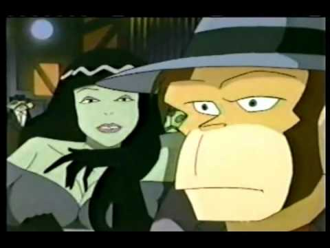 Captain Simian & The Space Monkeys Episode 19  The Maltese Monkey