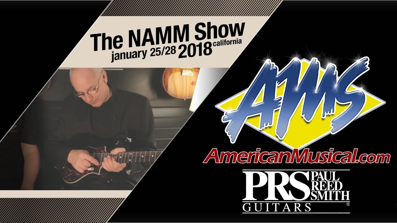 Paul Reed Smith Interview - AMS at NAMM 2018