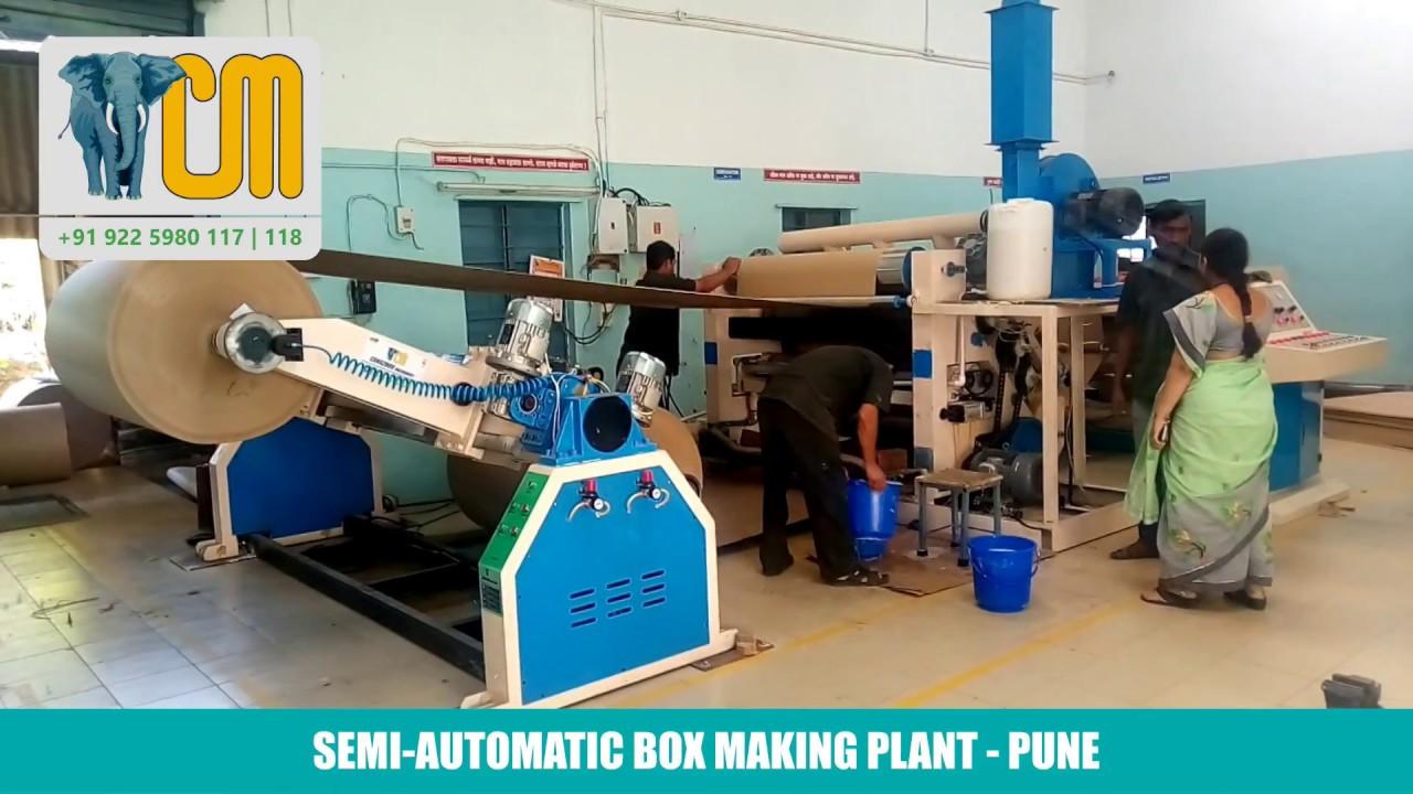 Semi Automatic Board Making Plant (Pune)