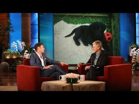 Ellen Gives Puppy Advice to Ryan Seacrest