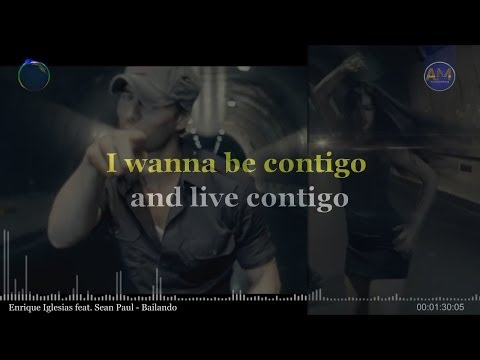 Enrique Iglesias feat, Sean Paul - Bailando (KARAOKE-INSTRUMENTAL-LYRICS)