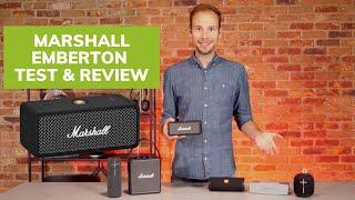 Marshall Emberton Portable Speaker Test & Review (VS JBL, Bose & UE)