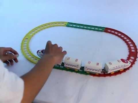 Đoàn tàu đồ chơi cho bé/ Cungmua.com.MOV