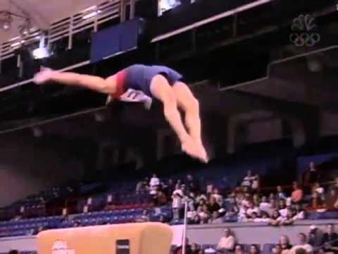 David Henderson - Vault - 2000 Pontiac International Team Championships - Men