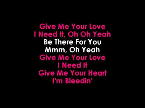 Sigala feat  John Newman and Nile Rodgers   Give Me Your Love Karaoke