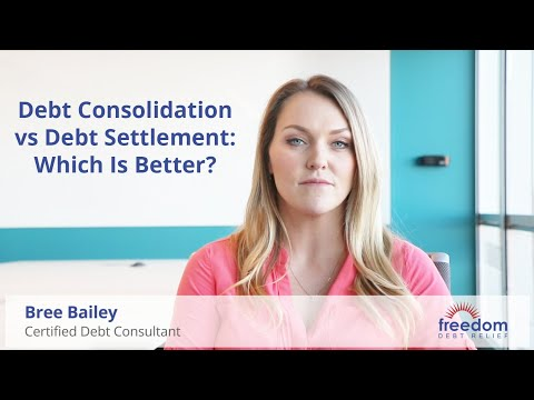 Debt Consolidation vs Debt Settlement: Which Is Better?