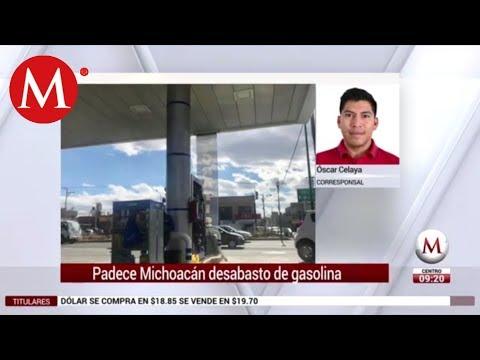Padece Michoacán desabasto de gasolina