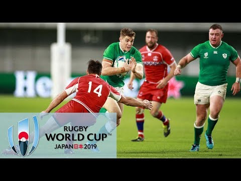Rugby World Cup 2019: Ireland Vs. Russia | EXTENDED HIGHLIGHTS | 10/03/19 | NBC Sports