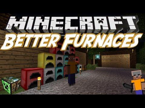 Minecraft - [ModReview] Better Furnaces / Neue Öfen Mit Vielen Funktionen