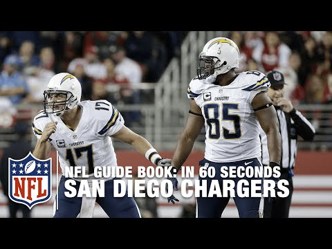 The San Diego Chargers: The Bolts | In 60 Seconds | NFL