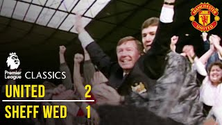 Manchester United 2-1 Sheffield Wednesday (92/93) - Premier League Classics