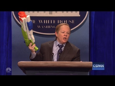 Thumbnail: Sean Spicer Says Melissa McCarthy Could 'Dial Back' Her SNL Impression