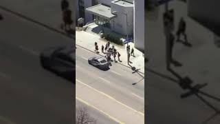 White Van seen plowing into people in Toronto thumbnail