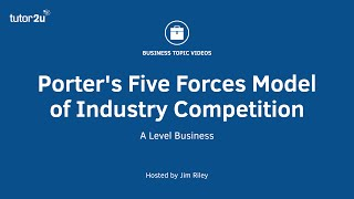 Porter's Five Forces Model of Industry Competition