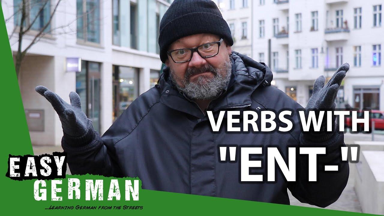 "Download German Verbs with ""ENT-""  | Super Easy German (130)"