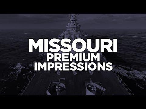 World of Warships - Missouri Premium Impressions