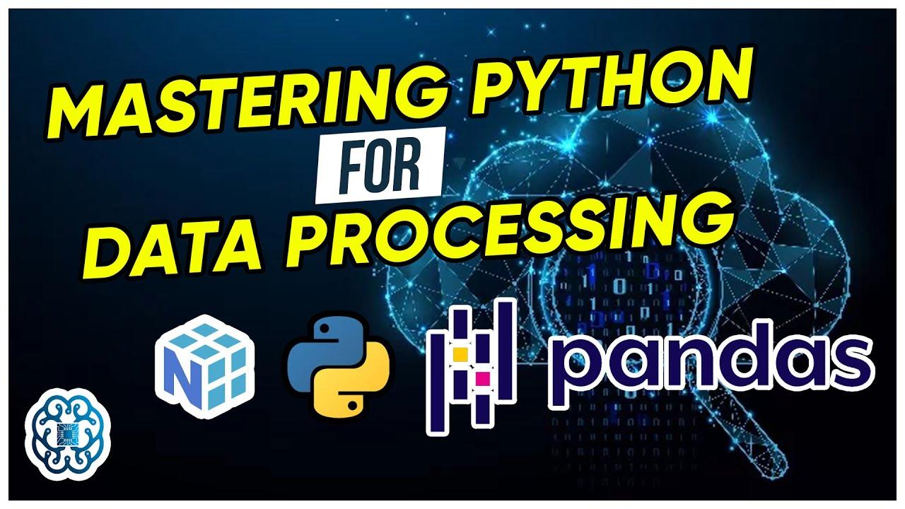 NumPy & Pandas Data Processing - 2 Hours - Part 1