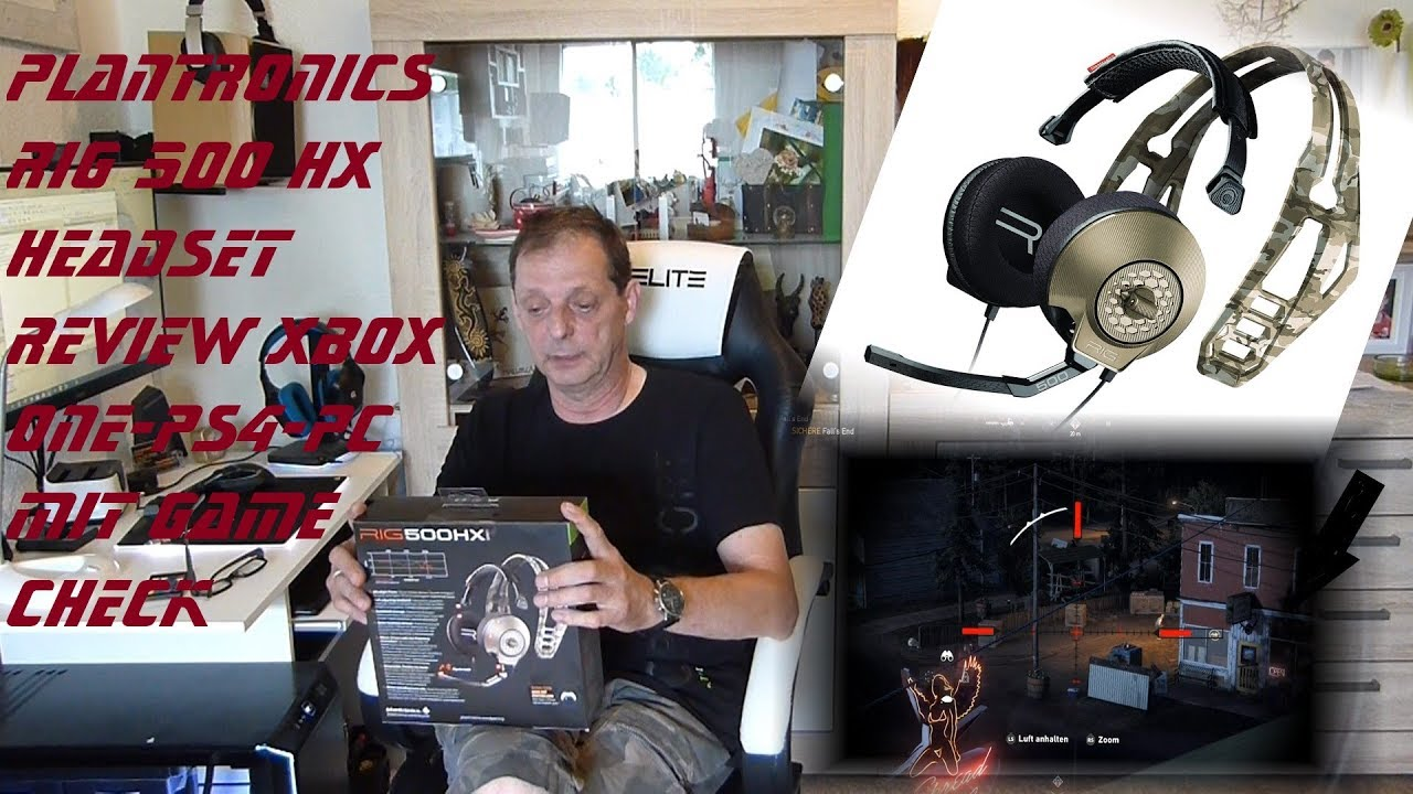 Plantronics RIG 500 HX Headset Review XBOX ONE PS 4 PC mit Game Far Cry  Check