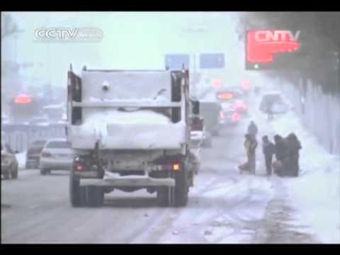 Harbin city battles worst snowstorm in 50 years