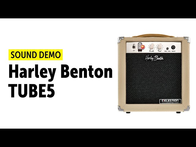 Harley Benton TUBE5 - Sound Demo (no talking)